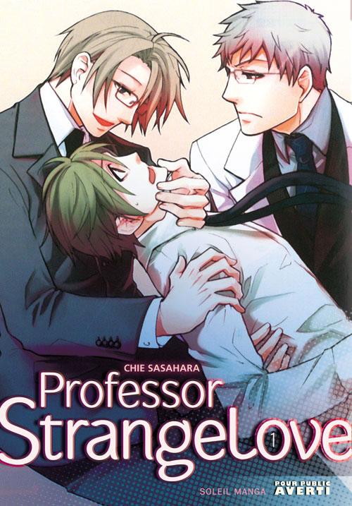 "Manga ""Professor Strange Love"" de Chie Sasahara"
