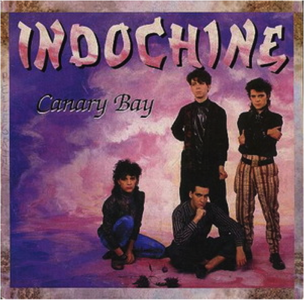 "Pochette de la chanson ""Canary Bay"" d'Indochine"