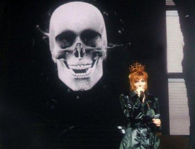 """Mylène Farmer pendant sa tournée """"N°5"""""""