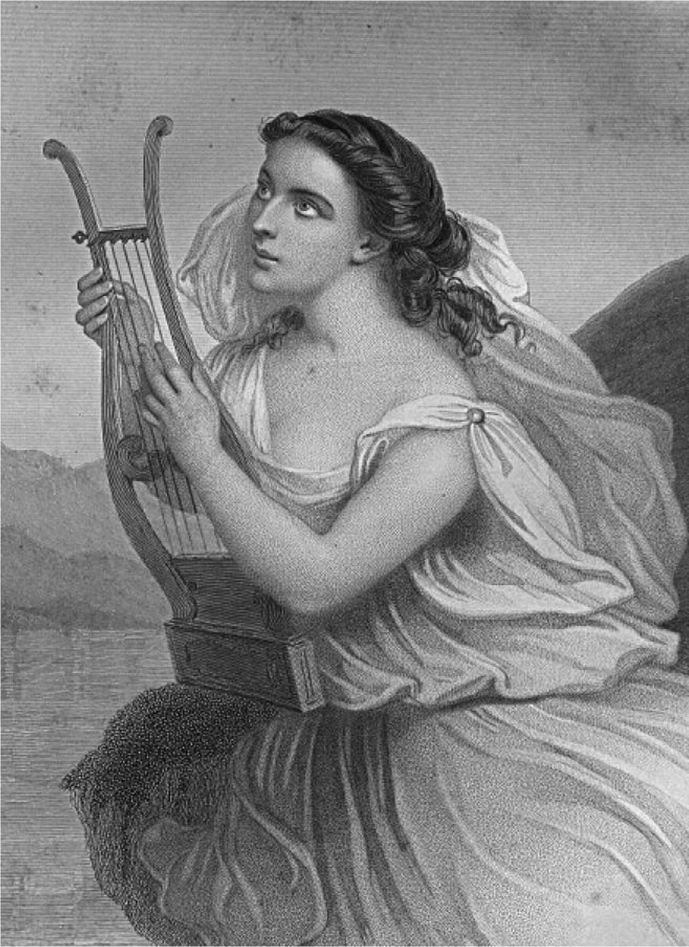 Lesbos, île grecque de la Mer Égée connue pour sa poétesse Sappho