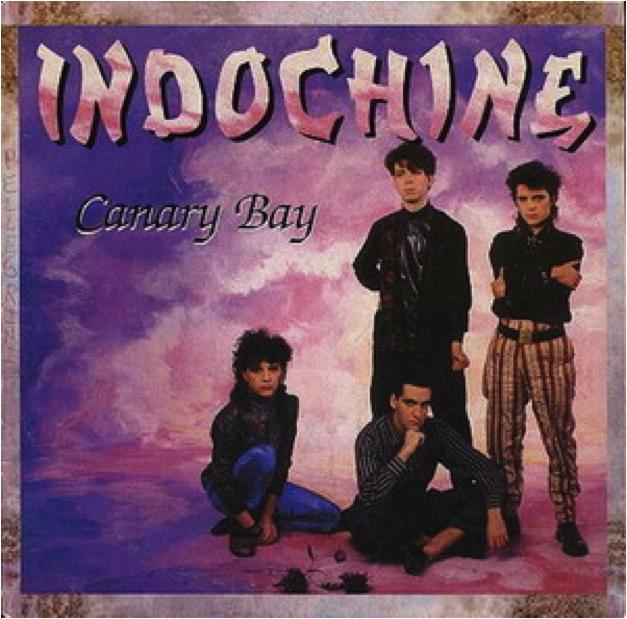 """Pochette de la chanson """"Canary Bay"""" d'Indochine"""