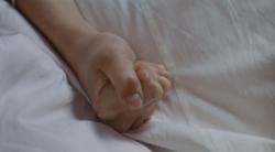 """Main d'Odetta dans le film """"Teorema"""" de Pier Paolo Pasolini"""