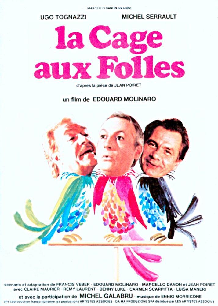 """Film """"La Cage aux folles"""" d'Édouard Molinaro"""