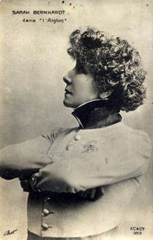 Sarah Bernhardt dans L'Aiglon