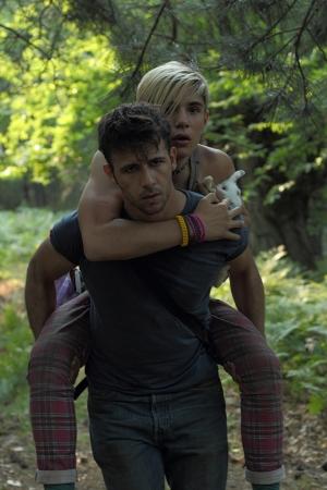 """Dany sur Ody dans le film """"Xenia"""" de Koutras"""