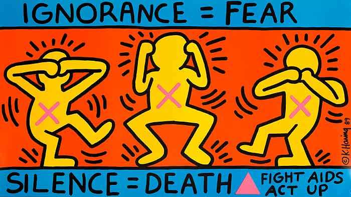 Dessin de Keith Haring