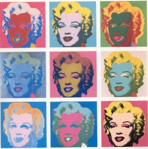 ARTISTE 6 Warhol Marilyn