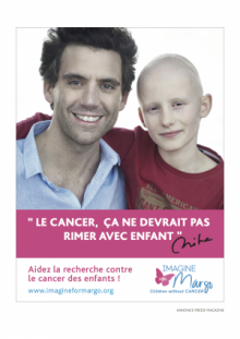Le chanteur Mika contre le cancer