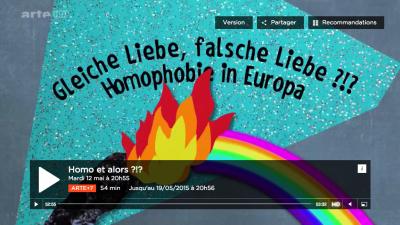 "Documentaire ""Homo et alors?!?"" de Peter Gerardt"
