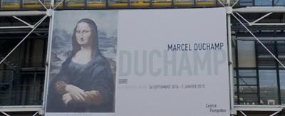 Expo Marcel Duchamp au Centre Pompidou (Paris) de septembre 2014 à janvier 2015