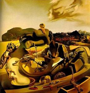 "Tableau ""Cannibalisme d'automne"" de Salvador Dali"