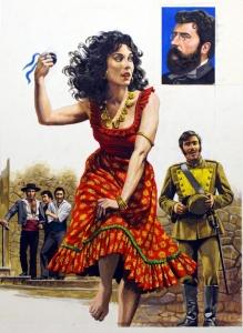 La Carmen du dessinateur gay Roger Payne