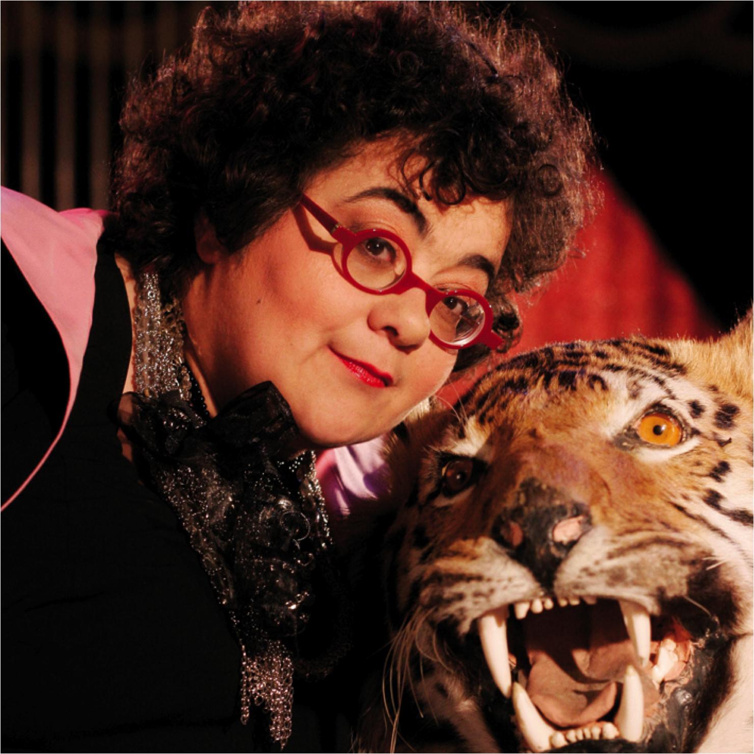 Juliette et son tigre