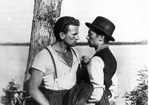 "Film ""Les Amants diaboliques"" de Luchino Visconti (avec Gino et Giuseppe)"