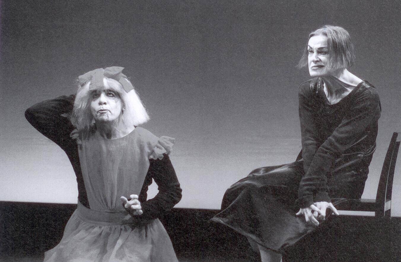 Alfredo Arias et Marilú Marini dans La Femme assise