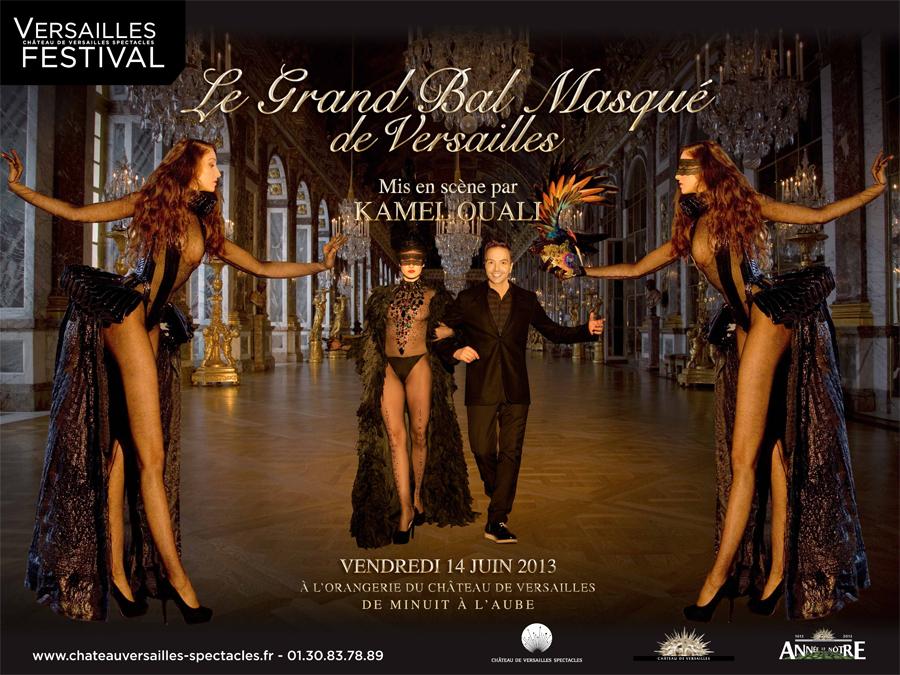 Le Grand Bal Masqué de Versailles par Kamel Ouali