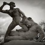 Sculpture du Minotaure
