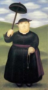 Toile de Fernando Botero