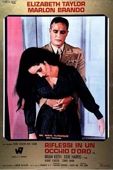 "Film ""Reflets dans un œil d'or"" de John Huston"