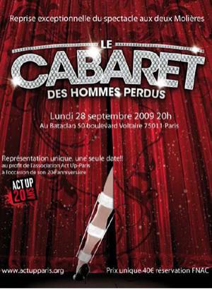 """Comédie musicale """"Le Cabaret des Hommes perdus"""" de Christian Siméon"""