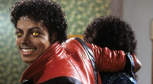 "Vidéo-clip de la chanson ""Thriller"" de Michael Jackson"