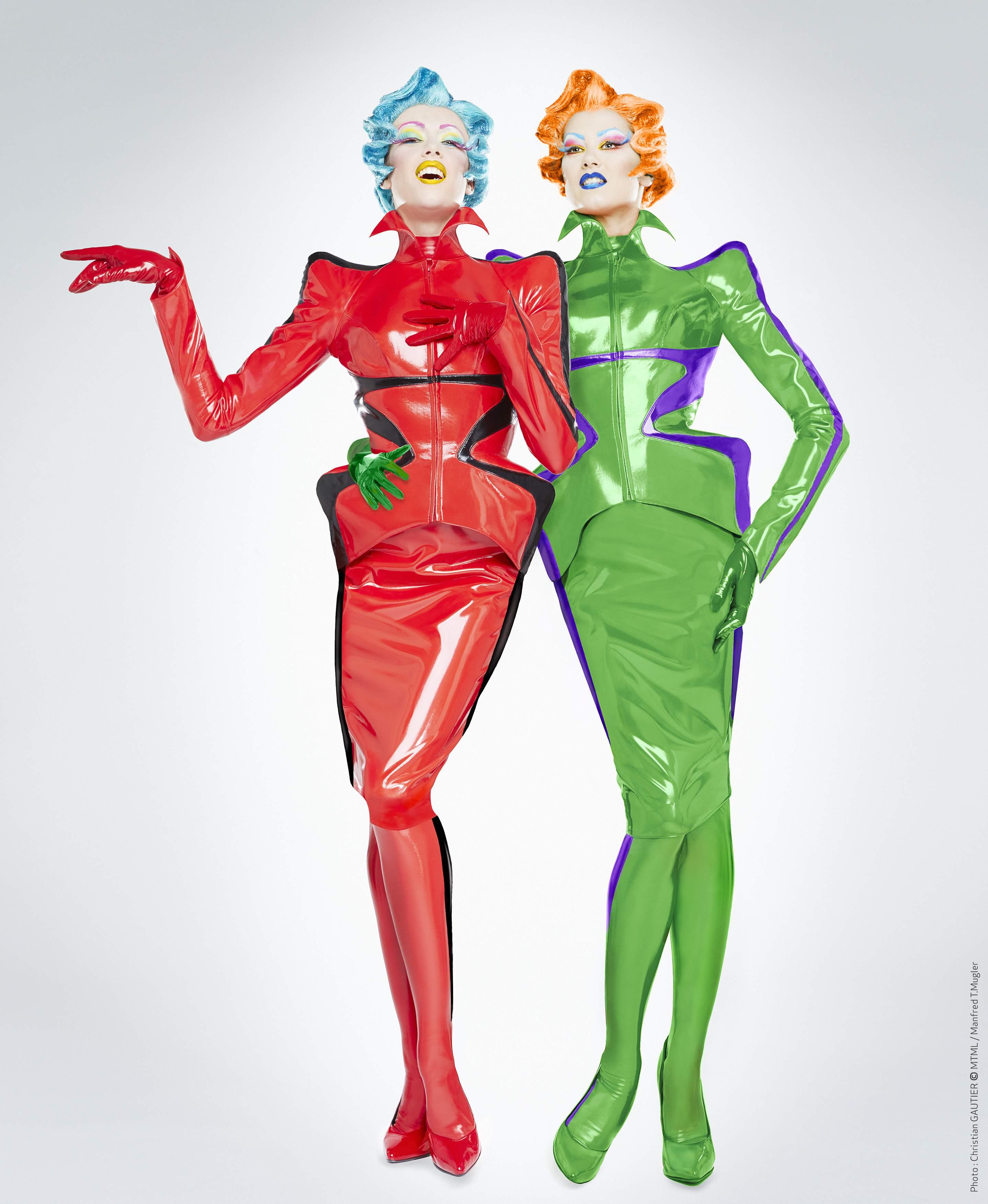 Mannequins de Thierry Mugler