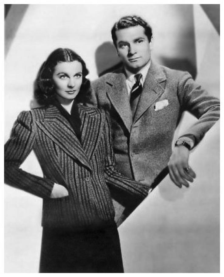 Vivien Leigh et Laurence Olivier