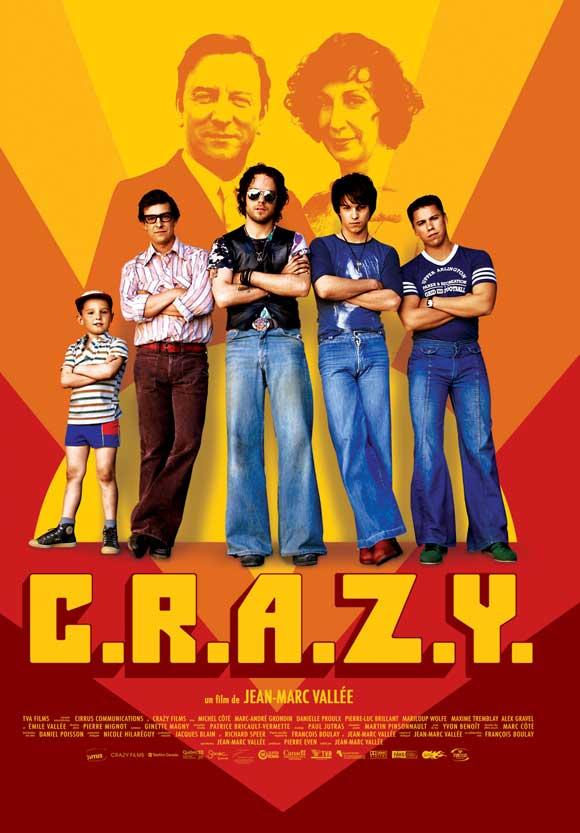 """Film """"C.R.A.Z.Y."""" de Jean-Marc Vallée"""