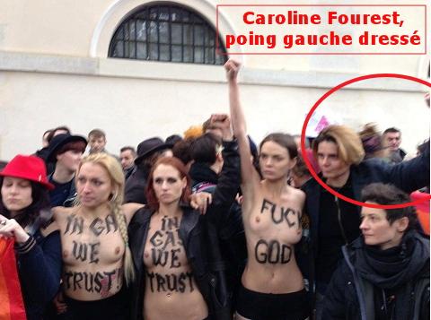 Caroline Fourest et les Femen, pleines de bonnes intentions