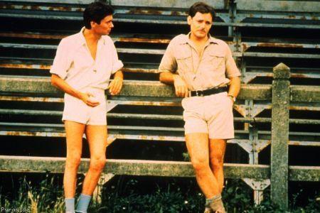 """Philippe le coincé et Marc le naturel, dans le film """"La meilleure façon de marcher"""" de Claude Miller"""