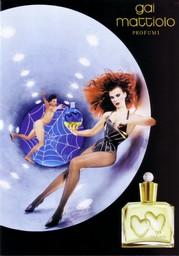 Publicité de parfum de Gai Mattiolo