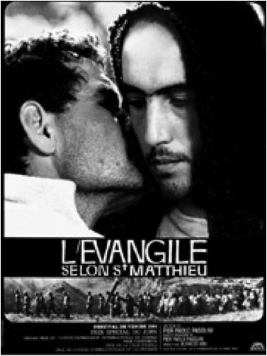 """Film """"L'Évangile selon saint Matthieu"""" de Pier Paolo Pasolini"""