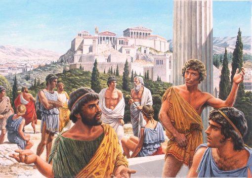 Illustrations Grèce Antique du dessinateur d'érotisme gay Roger Payne