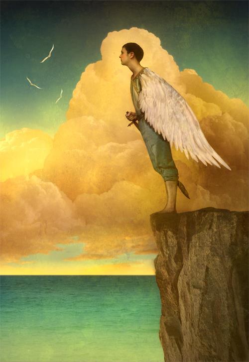 """Tableau """"Bird Wing"""" de Matt Mahurin"""