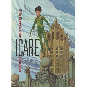 """B.D. """"Icare"""" de Moebius et Jiro Taniguchi"""