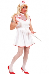 INFIRMIÈRE costume trans