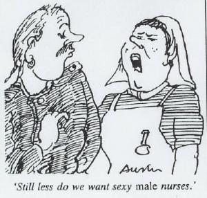 INFIRMIER Caricature