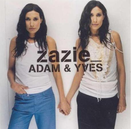 "Pochette du single ""Adam et Yves"" de Zazie"