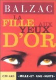 Roman La Fille aux yeux d'or d'Honoré de Balzac