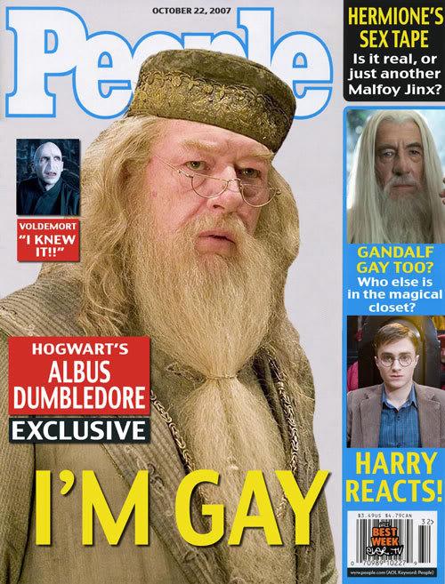 Dumbledore dans Harry Potter