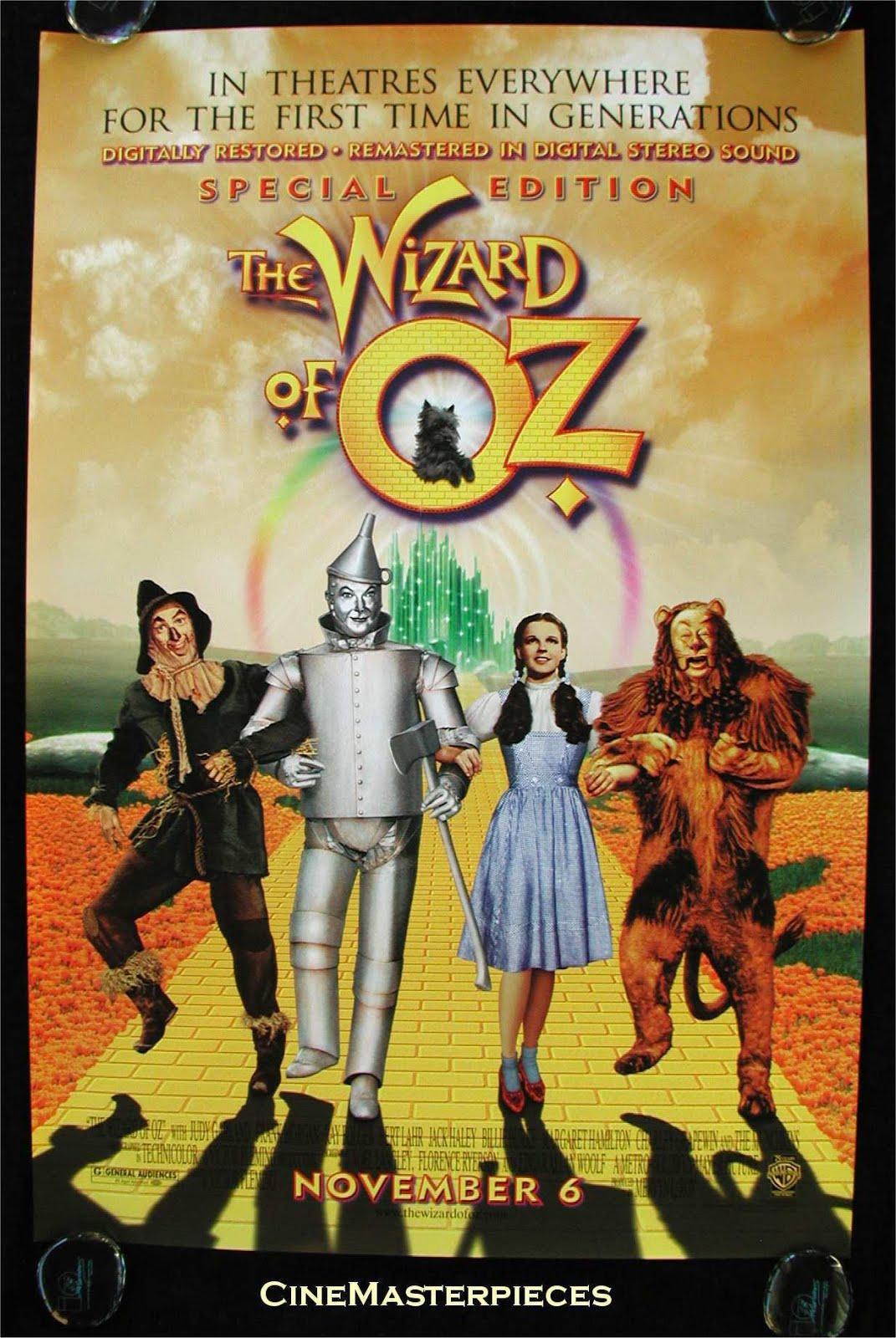 "Film ""Le Magicien d'Oz"" de Victor Fleming"