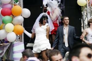 Scène de Gay Pride