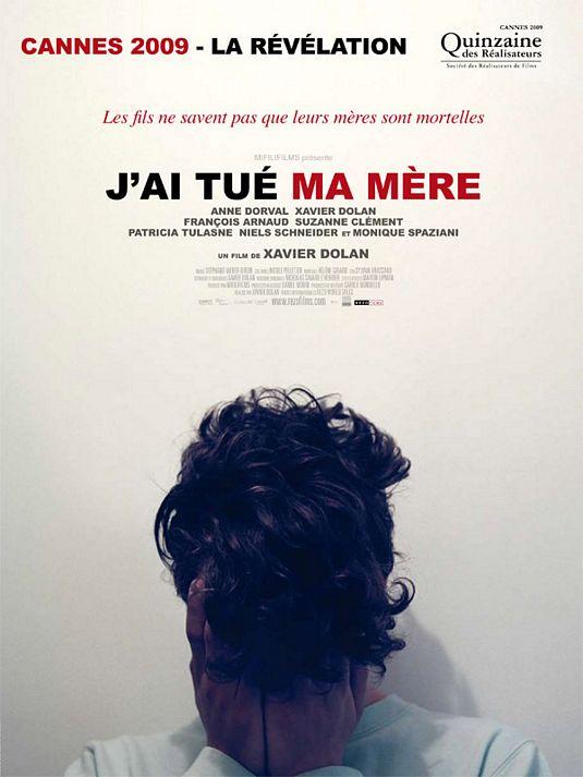 "Film ""J'ai tué ma mère"" de Xavier Dolan"
