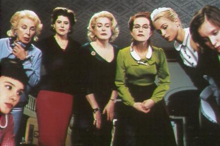 """Film """"Huit Femmes"""" de François Ozon"""