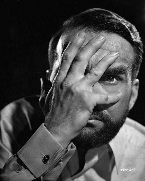 "Montgomery Clift dans le film ""Freud"" de John Huston"