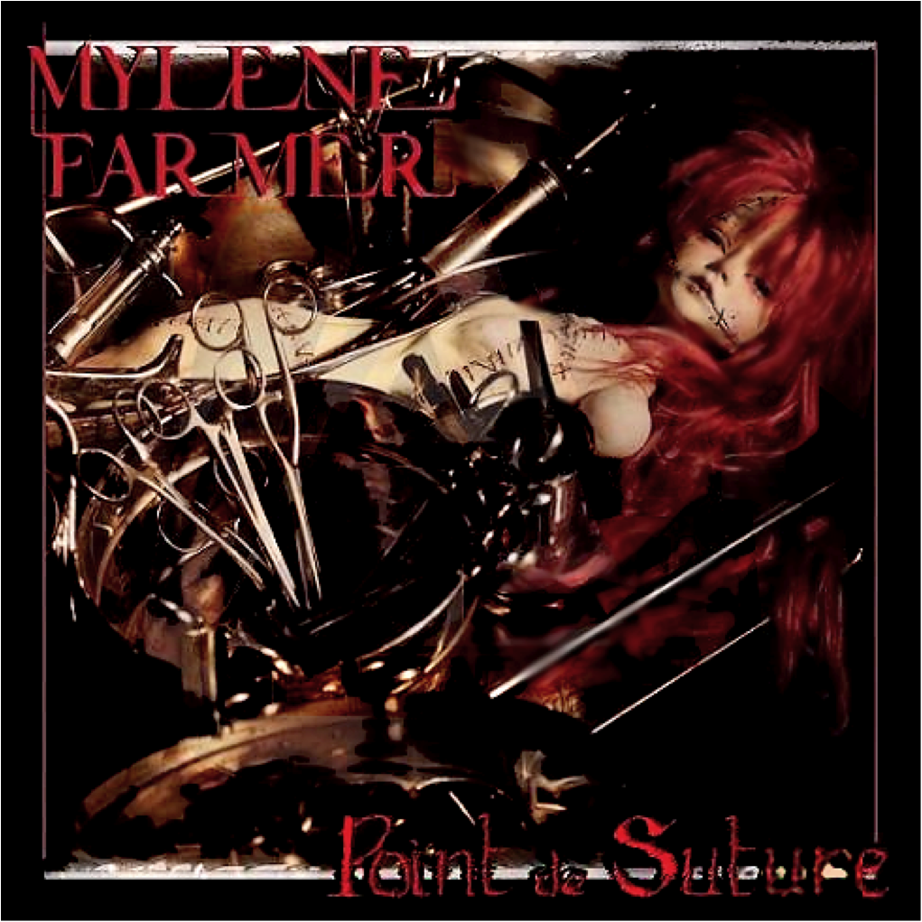 "Album ""Point de suture"" de Mylène Farmer"