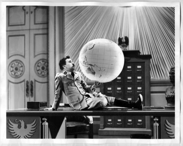 """Film """"Le Dictateur"""" de Charlie Chaplin"""