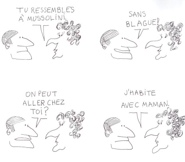 "B.D. ""Le Monde fantastique des gays"" de Copi"