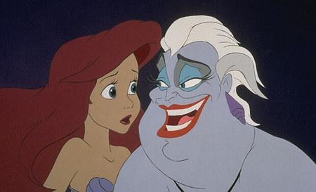 "Film d'animation ""La Petite Sirène"" de Walt Disney"