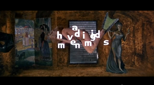 "Générique du film ""Barbarella"" de Roger Vadim (avec Jane Fonda)"